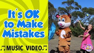 Music for Kids | It's OK to Make Mistakes by Pevan & Sarah