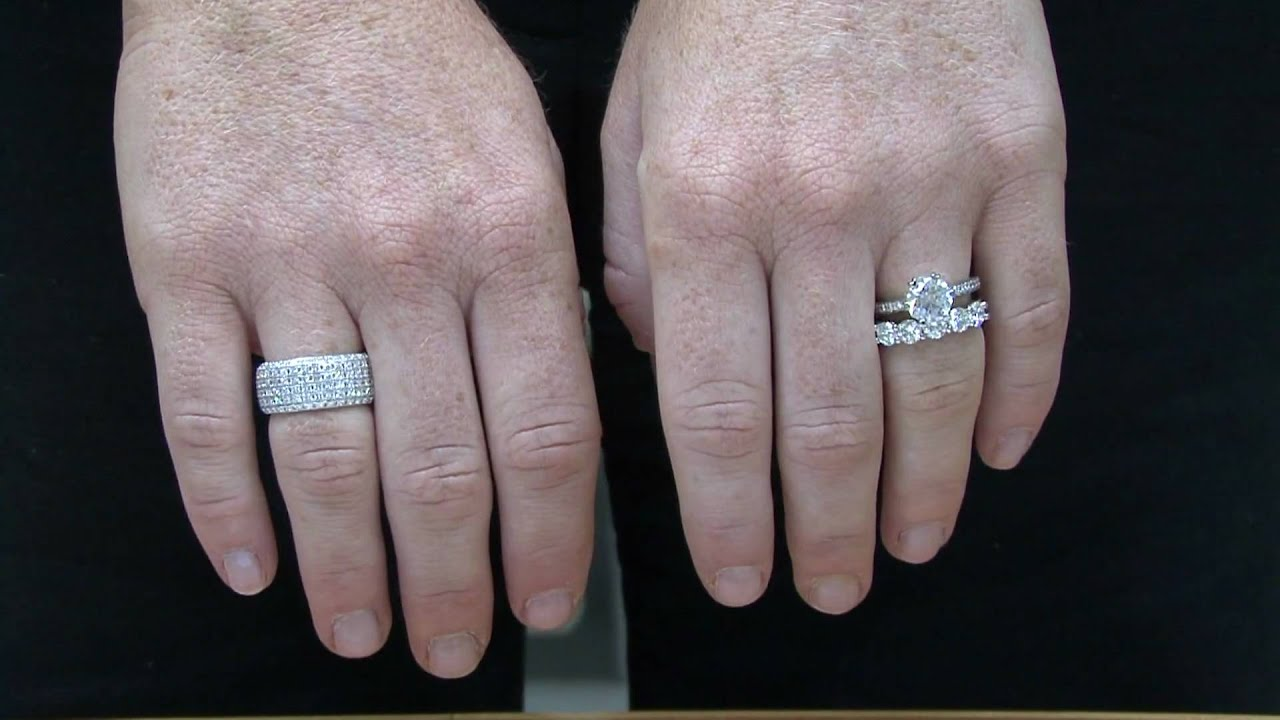 anniversary wedding bands by ronnie mervis youtube - How Do You Wear Your Wedding Rings