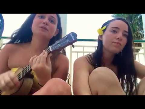 Lucky (Uke Cover) with a homie