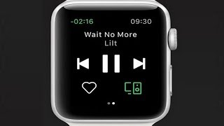 Spotify is officially launching its Apple Watch app, a limited application for now.
