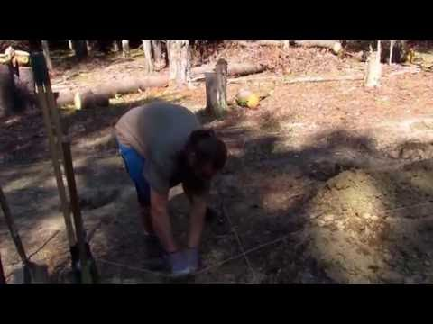 Digging 4 Foot Deep Footer Holes For 30 Foot Yurt. No Heavy Equipment. Shovel And Some Time