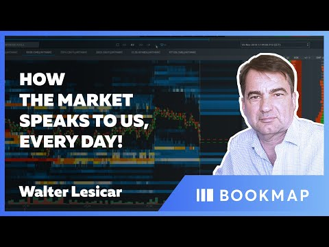 How The Market Speaks To Us, Every Day! | Walter Lesicar | Pro Trader Webinar