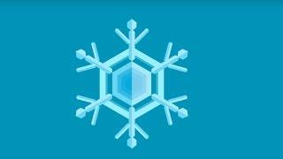 Todesstern Schneeflocke