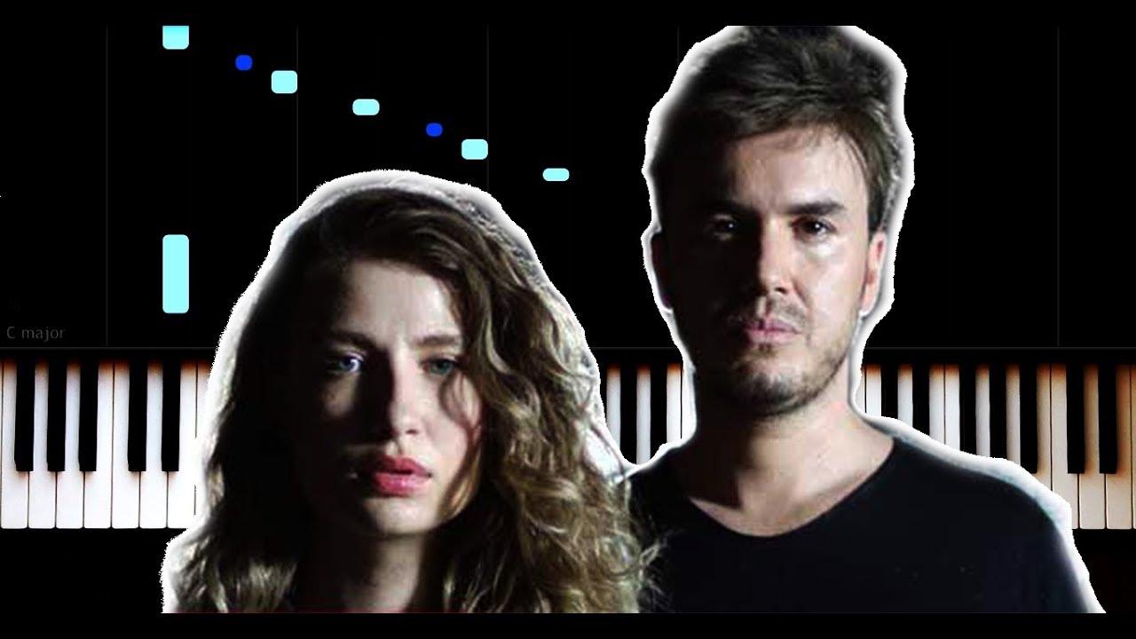 Irmak Arıcı & Mustafa Ceceli - Mühür - Piano Tutorial by VN