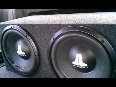 2 12 jl audio wx4 subwoofers youtube. Black Bedroom Furniture Sets. Home Design Ideas