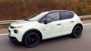 Citroën C3: de Paris jusqu