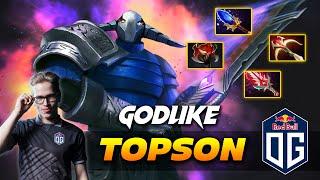 TOPSON GODLIKE SVEN - Dota 2 Pro Gameplay [Watch & Learn]