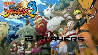 How to play Naruto Shippuden Full Burst 3 in 2 players [PC]