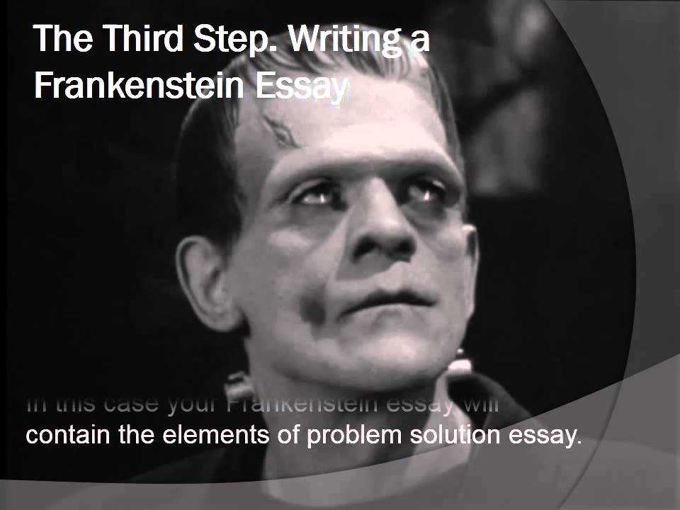 intro to frankenstein essay Stuck writing a frankenstein essay  frankenstein essays plot overview  to collect statistics for the introduction of a woman monster.