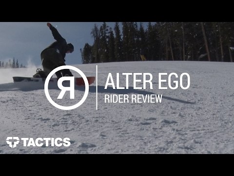 Ride Alter Ego 2018 Snowboard Rider Review - Tactics.com Mp3