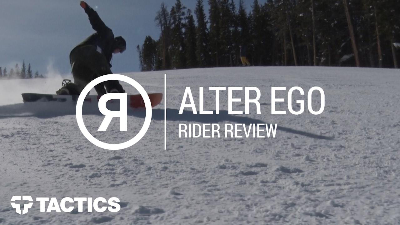 cf9acf28bb Ride Alter Ego 2018 Snowboard Rider Review - Tactics.com - YouTube