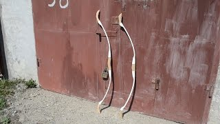 Розбірний лук з ПВХ труби/Разборной лук из ПВХ трубы/sectional bow with PVC pipe