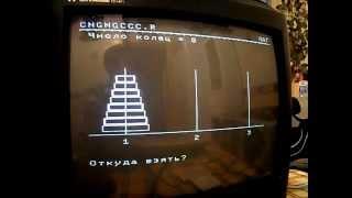 BK0010 / БК0010-01 Загрузка игр с магнитофонных кассет. ЧАСТЬ 1