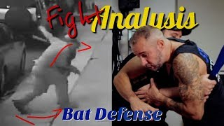 Fight Analysis - How to defend against a baseball bat with Nick Drossos