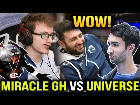 MIRACLE ft GH vs UNIVERSE - MGOD Shadow Fiend Can Help? Dota2
