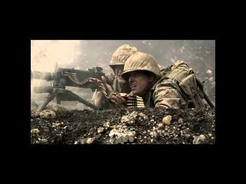 John Basilone's Death on Iwo Jima HD