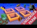 Minecraft How to Make a  Fish Farm: An Underwater Farm by Avomance 4 Wet Things Like Fish & Drowned