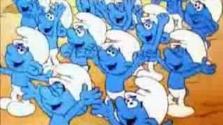 I puffi -- De smurfen --  Ja wij zijn de smurfen!