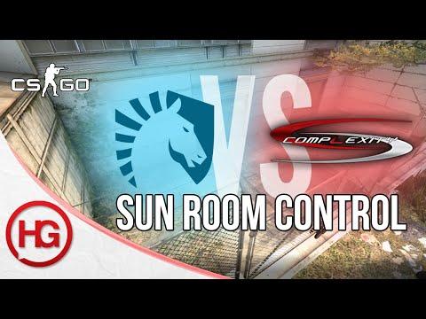 Team Liquid vs compLexity - Cache, Sun Room Control (CS:GO Strategy Breakdown #17)