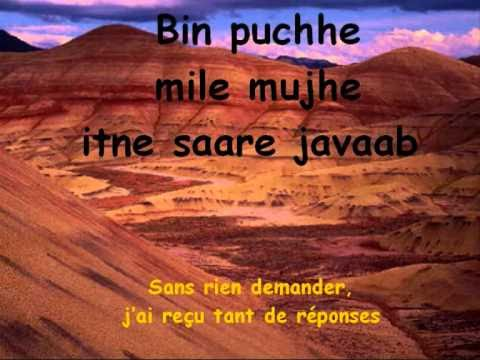 Tere liye - Veer zaara (Lyrics-Paroles-Traduction FR)