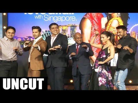 Badrinath Ki Dulhania Movie 2017 | Varun Dhawan And Alia Bhatt | Singapore Tourism Press Conference