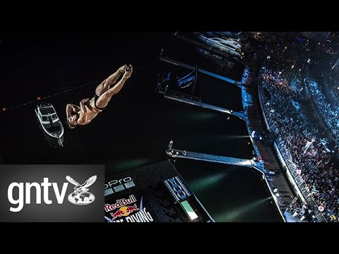 Highlights from the Red Bull Cliff Diving World Series 2016 in Dubai