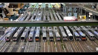 <Nゲージ>東武鉄道、東急電鉄、東京メトロ半蔵門線 Modellbahn Spur N Model Railroad Diorama 鉄道模型