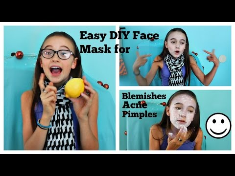 DIY Natural Face Masks & Scrubs To Treat Pimples, Blemishes, Acne | Make It Fancy | Fiona Frills