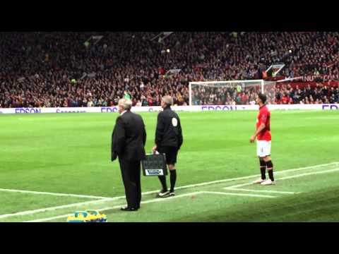 Ryan Giggs last ever game Old Trafford