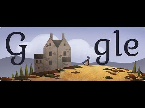 Charlotte Bronte Google Doodle