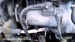 '02-'06 Honda CR-V Starter Motor Removal