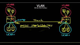 Netzwerkgrundlagen: VLAN Trunking 802.1Q