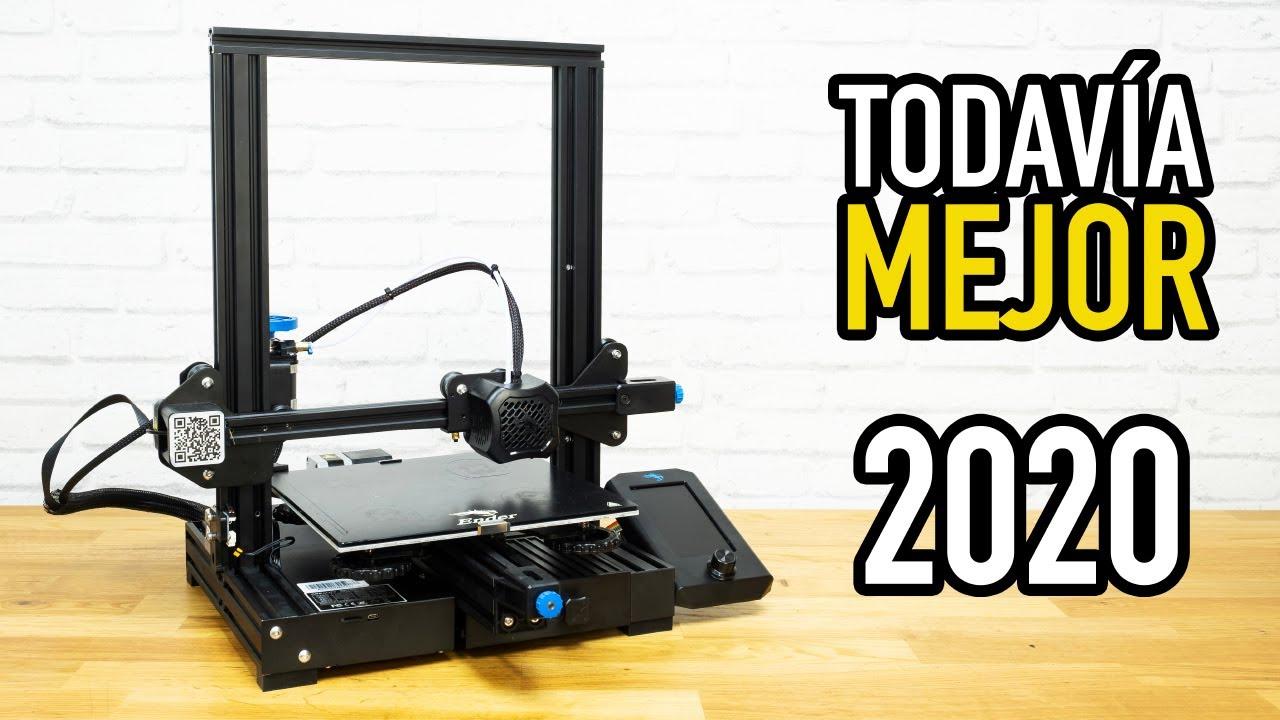 La Mejor Impresora 3d Barata Del 2020 Ender 3 V2 Youtube