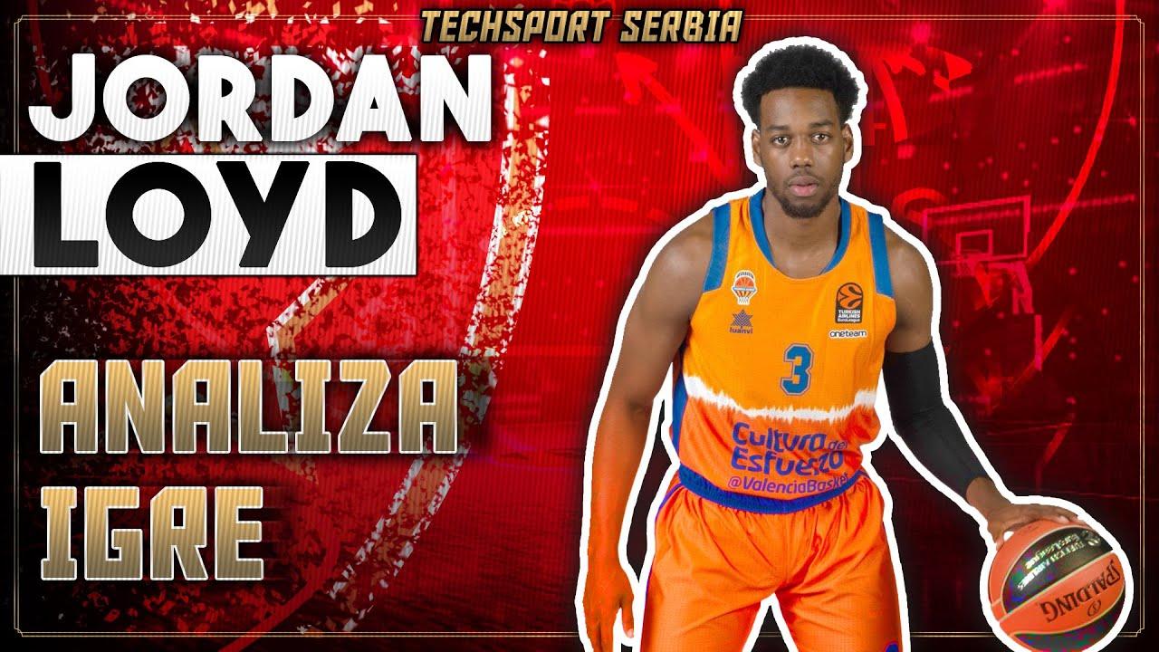 Jordan Loyd - Analiza igre | KK Crvena zvezda 2020/21