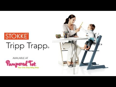 Demo of the stokke tripp trapp high chair by stokke for Offerte stokke tripp trapp