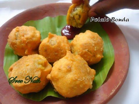 Potato Bonda - Tea time snack
