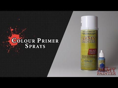 Colour Primer Sprays