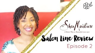 FINGER COILS | Shea Moisture Salon Line Ep. 2
