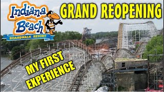 Indiana Beach's Grand Reopening - My First Experience, June 26, 2020