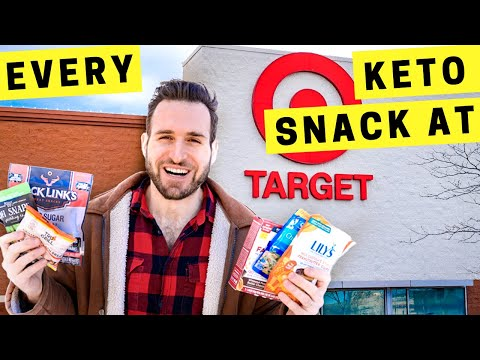 Best  KETO SNACKS at Target RIGHT NOW 2021