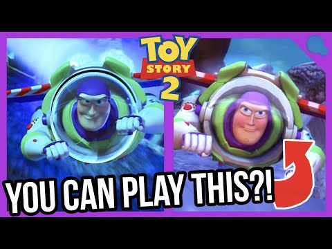 The Buzz Lightyear level you didn't know about!