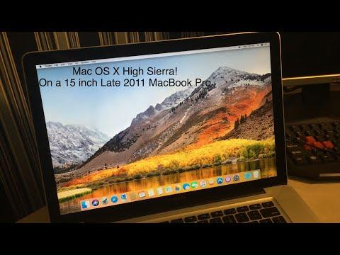Installing macOS High
