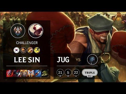Lee Sin Jungle vs Kindred - KR Challenger Patch 10.3