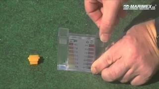 Tabletový tester na pH a chlorovou koncentraci