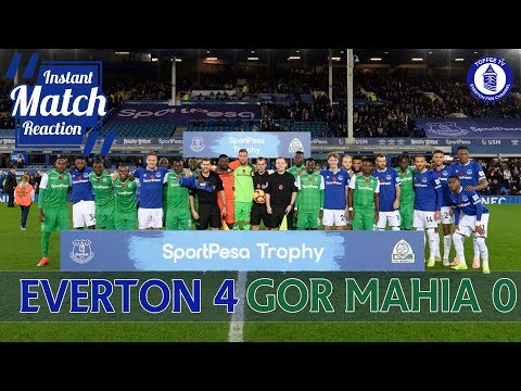 Everton 4-0 Gor Mahia | Match Reaction