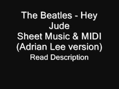 Hey Jude Adrian Lee version Sheets & MIDI