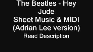 Hey Jude (Adrian Lee version) Sheets & MIDI