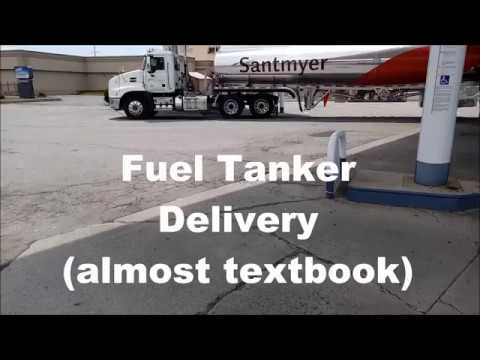 Tanker Delivery--textbook procedure