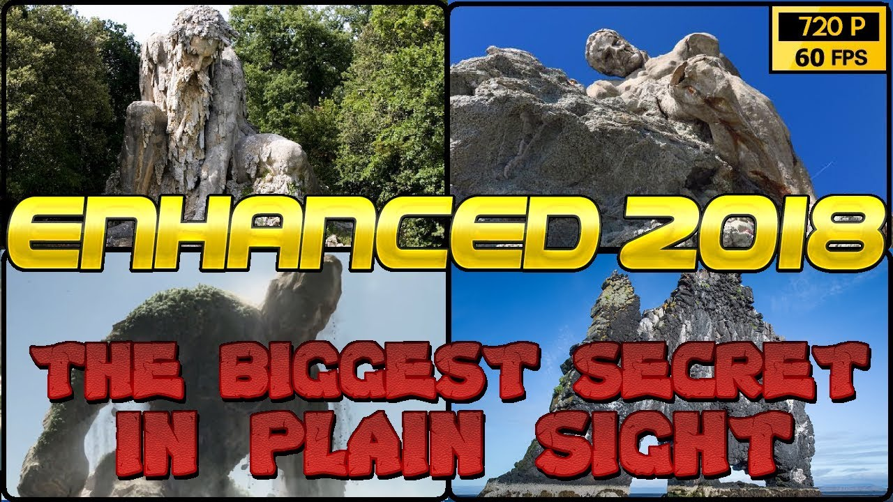 WORLD OF PETRIFIED GIANTS & TITANS [ENHANCED 'The BIGGEST SECRET Hidden in Plain SIGHT'