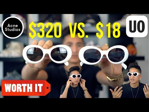 $320 DESIGNER SUNGLASSES Vs. $18 CLONES FROM URBAN OUTFITTERS!